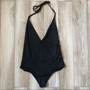 Vitamin A Swim - Vitamin A Bianca One Piece Swimsuit Black cutouts